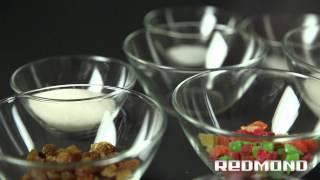 Рецепты от Redmond: Сладкая сдоба с цукатами (RBM-1904)