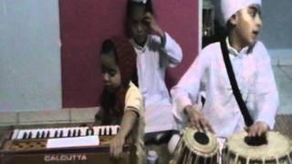 Sukhmeet Kaur ( Simran ) Tabla Playingh by Paramjot Singh.MOD