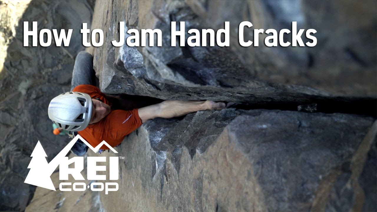 Climbing How To Jam Hand Cracks Youtube