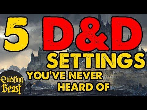 5 DnD Settings You've Never Heard Of