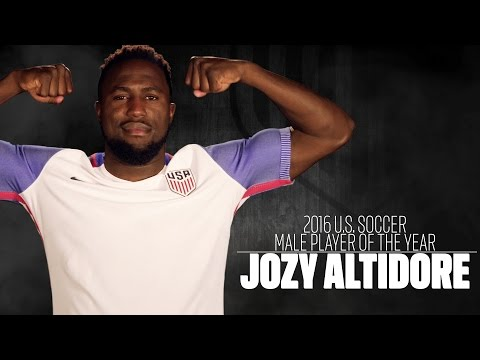 Jozy Altidore: 2016 U.S. Soccer Male Player of the Year