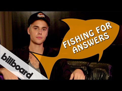 Justin Bieber plays Fishing For Answers, Ep. 1   #BieberOnBillboard