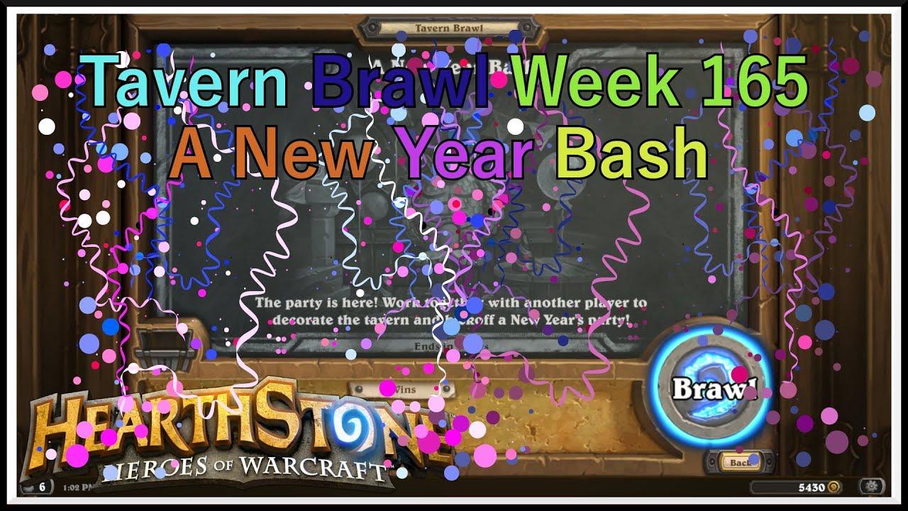 a new year bash hearthstone