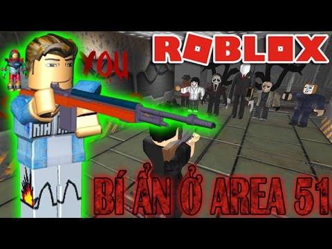 Roblox | KHU AREA 51 ĐẦY QUÁI VẬT GIẾT NGƯỜI - Survive and Kill the Killers in Area 51 | KiA Phạm