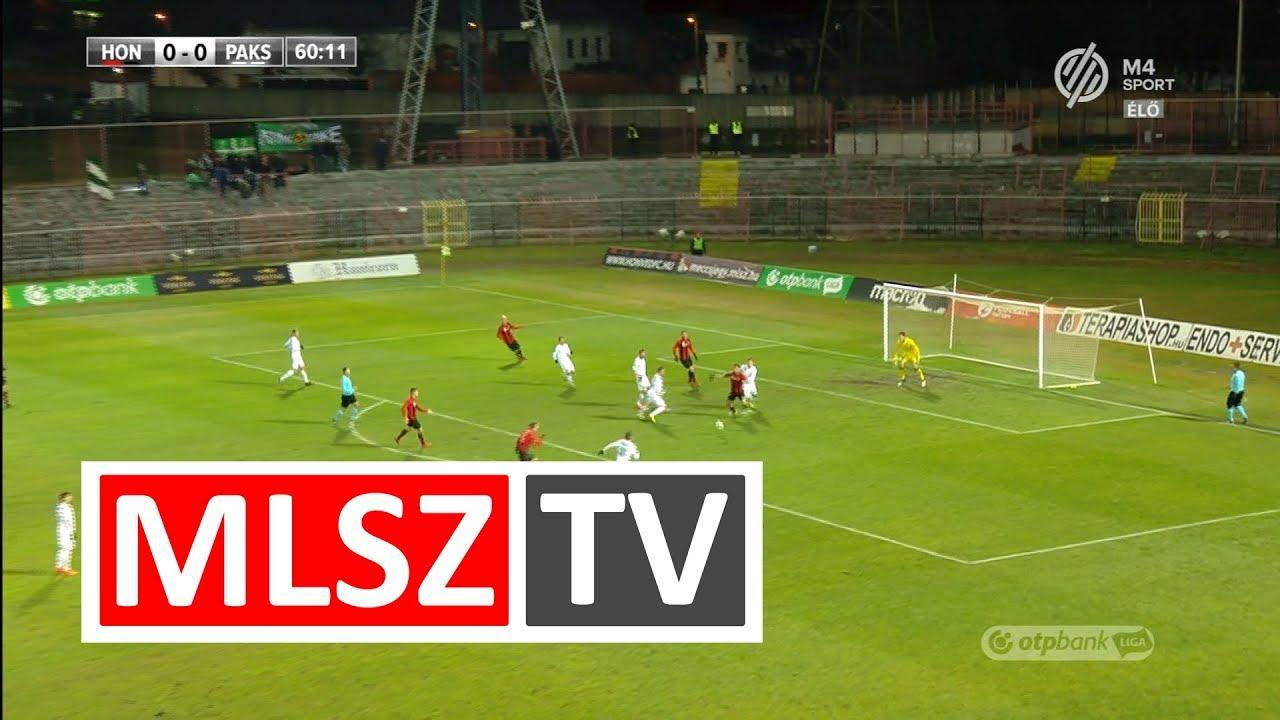 Gazdag Dániel gólja a Budapest Honvéd - Paksi FC mérkőzésen