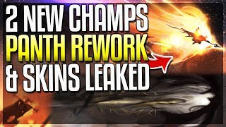 Pantheon Rework, Cho'Gath Rework, NEW ADC + Skins LEAKED!! - League of Legends