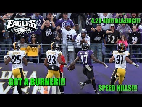 Eagles Sign WR Mike Wallace!!! They Got A BURNER!!! GREAT MOVE!!!