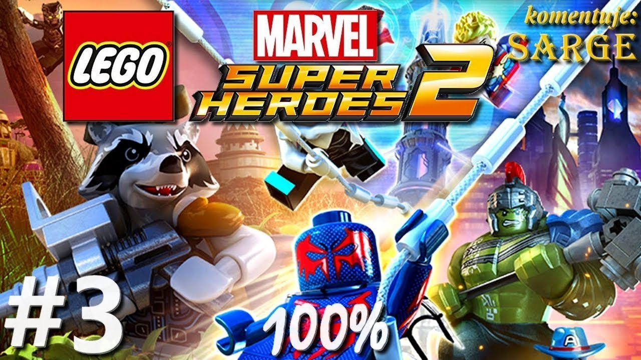 Zagrajmy w LEGO Marvel Super Heroes 2 (100%) odc. 3 – W głębinach oceanu