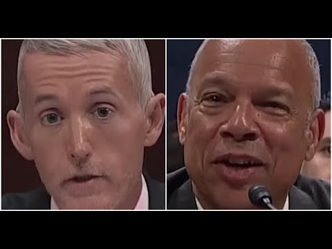 Trey Gowdy Asks Jeh Johnson the $64 Question He Cannot Answer