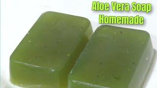 Homemade Aloe Vera Soap  Aloe Vera Soap Homemade  How to make home made Aloe Vera Soap