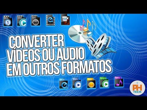 Como Converter Vídeos Para Mp4 Mp3 Ou Em Qualquer Outro Formato