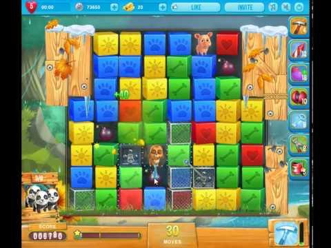 Pet rescue saga pet island level 4 10 youtube for Pet island level 4