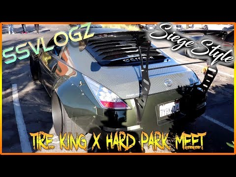 SiegeStyle VlogZ: Tire King X Hard Park Meet (12.3.17 Sacram