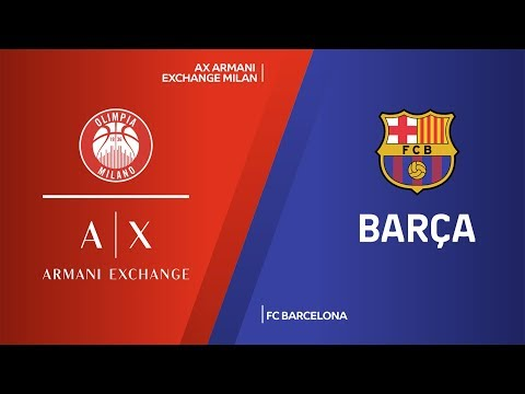 AX Armani Exchange Milan - FC Barcelona Highlights | Turkish Airlines EuroLeague, RS Round 6