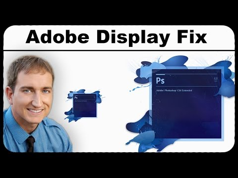 How To Make Adobe Software Display Larger On High Resolution Monitors
