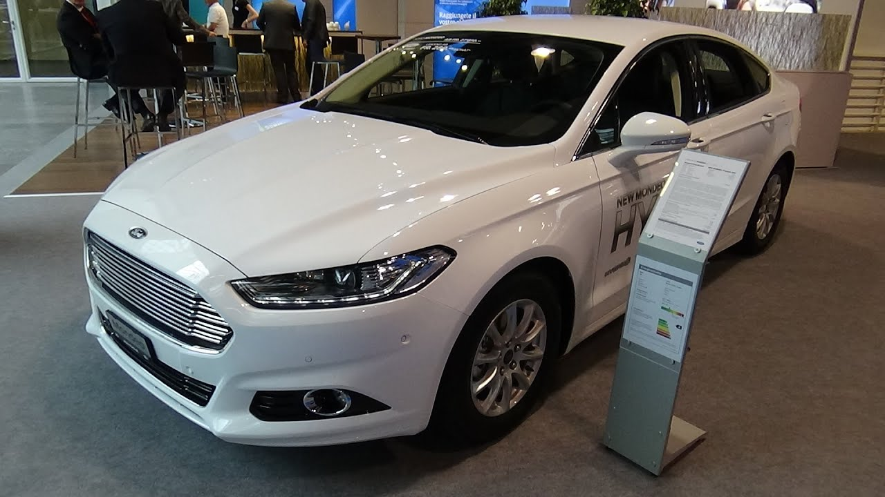 Ford Mondeo 2015 Interior >> 2016 - Ford Mondeo Titanium HEV - Exterior and Interior - Zürich Car Show 2015 - YouTube