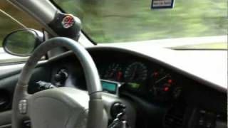2000 Buick Regal GSE highway drive