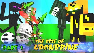 Monster School Season 2 Part 1 The Rise Of Udonbrine - Minecraft Animations