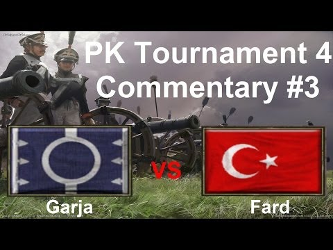 AOE3: PK Tournament 4 Commentary #3 | Garja (Iroquois) VS Fard (Ottoman) | Round A, Group S