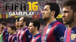 Fifa 16 Gameplay Demo - BARCELONA Penalties and Extra Time