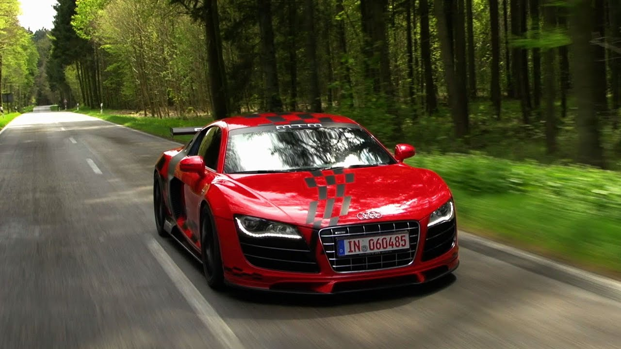 MTM Audi R8 V10 Spyder / R8 V10 Coupé - YouTube