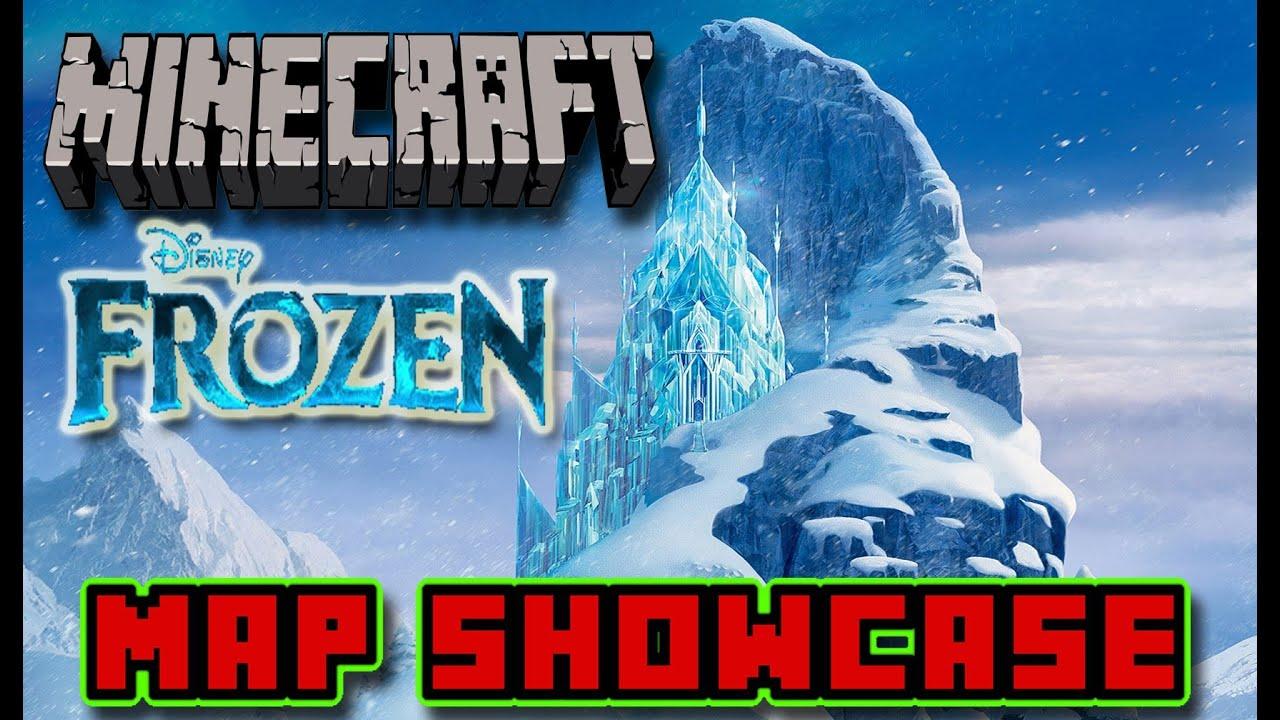 Minecraft map showcase disneys frozen map elsas ice castle and minecraft map showcase disneys frozen map elsas ice castle and arendelle castledownload youtube gumiabroncs Gallery