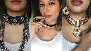 TOP AFFORDABLE INDIAN JEWELLERY INSTAGRAM STORES HAUL | INDIA - KERALA SHOPPING HAUL 2019