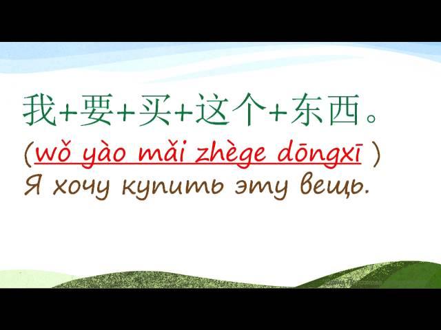 4. Говорим по-китайски: