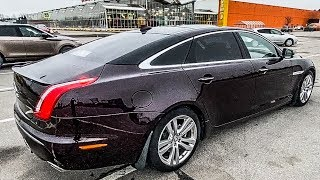 Подешевевший авто миллионера! Самый роскошный Jaguar XJL!