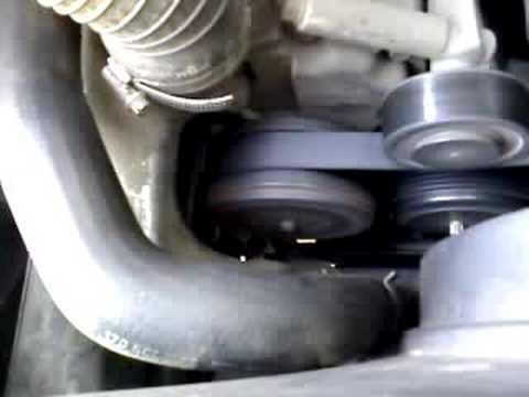SLK 230 rattling supercharger low RPM