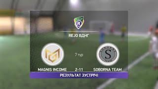 Обзор матча Magnis Income Soborna Team Турнир по мини футболу в Киеве