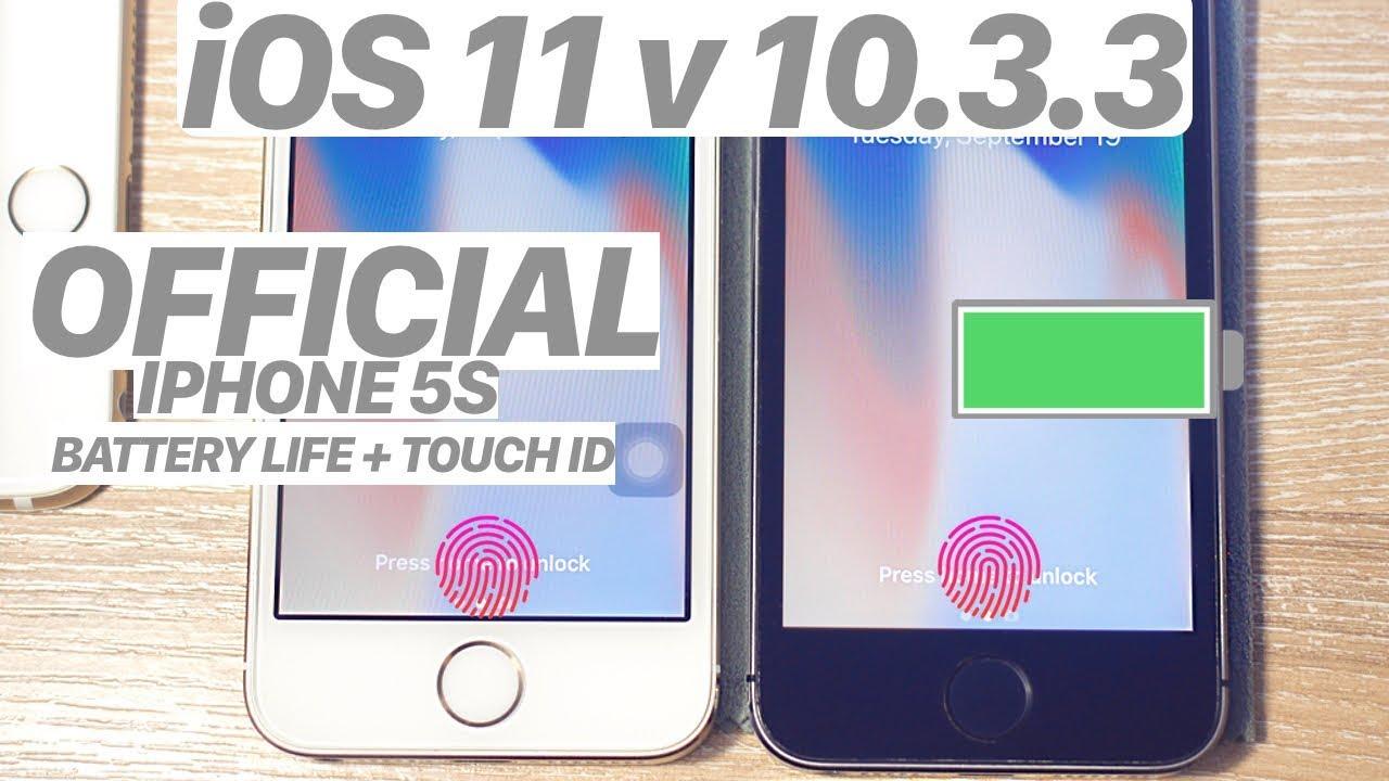 iphone 5s co nen len ios 11.3.1