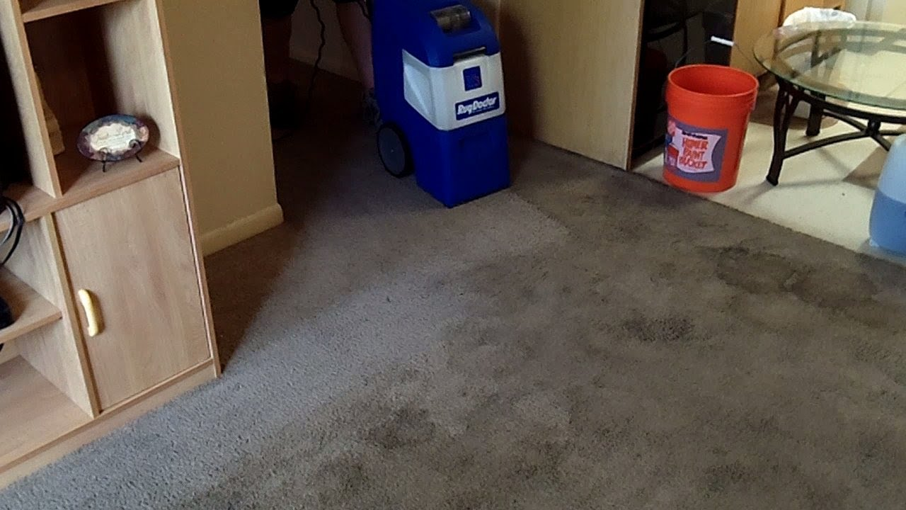 Rug Doctor X 3 Produces Fantastic Results On A Heavily Stained Carpet