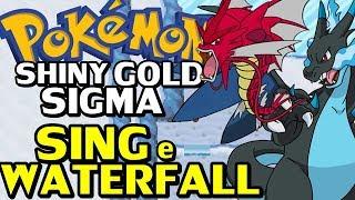 Pokémon Shiny Gold Sigma (Detonado - Parte 19) - HM Waterfall, Sing e Último Ginásio