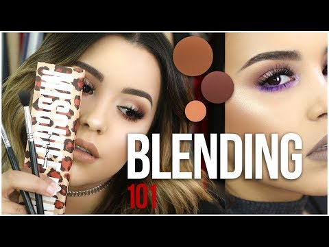 HOW TO BLEND EYESHADOW LIKE A PRO!   TIPS & TRICKS FOR BEGINNERS!