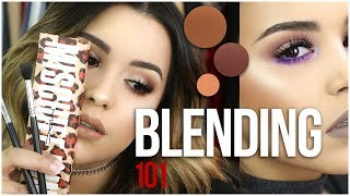 HOW TO BLEND EYESHADOW LIKE A PRO! | TIPS & TRICKS FOR BEGINNERS!