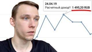 Сколько приносит ютуб канал на 20 ТЫСЯЧ подписчиков - Заработок с Ютуба