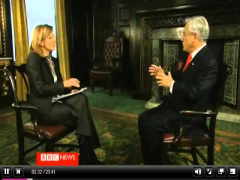 President Pinera is interviewed for Hardtalk 2010 (Part 1)
