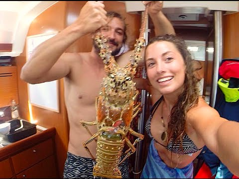 Sailing the BVI - Giant Lobsters and Ship Wrecks (Sailing La