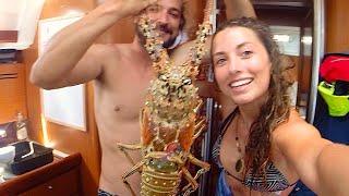 Sailing the BVI - Giant Lobsters and Ship Wrecks (Sailing La Vagabonde) - Ep. 9