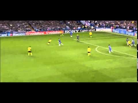 Lampard, Ballack & Essien tactical discipline vs Barcelona (UCL semi-final)