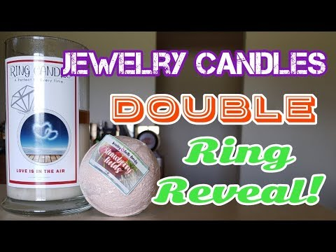 Jewelry Candles Double Ring Reveal!