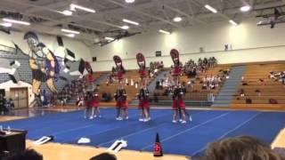 Bloomingdale cheer at Spoto 1/7/16