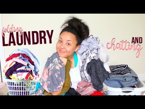 LET'S FOLD LAUNDRY & CHAT! | LAUNDRO-CHAT 2017 | Page Danielle