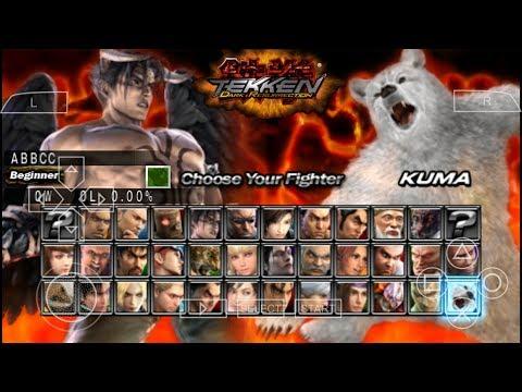 Cara Download Game Tekken 5 Dark Resurrection PPSSPP Android