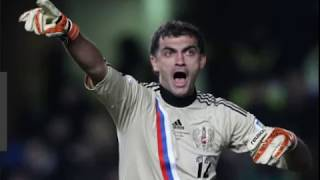 Vladimir Gabulov ,goalkeeper of Russia national team at the FIFA World Cup in Russia