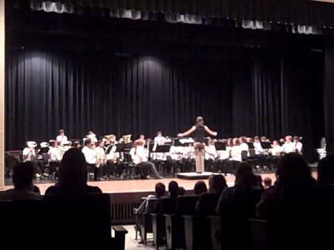 Mountain Valley Middle School Hawks Symphonic Band Spring 2011.wmv