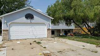 Gross Fix and Flip House Before the Rehab Bought 8/6/2018