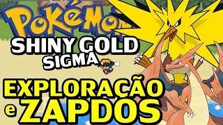 Pokémon Shiny Gold Sigma (Detonado - Parte 47) - Lendário Zapdos!