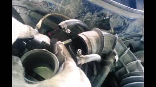 Снятие и чистка дроссельной заслонки на ваз 21099 часть 2